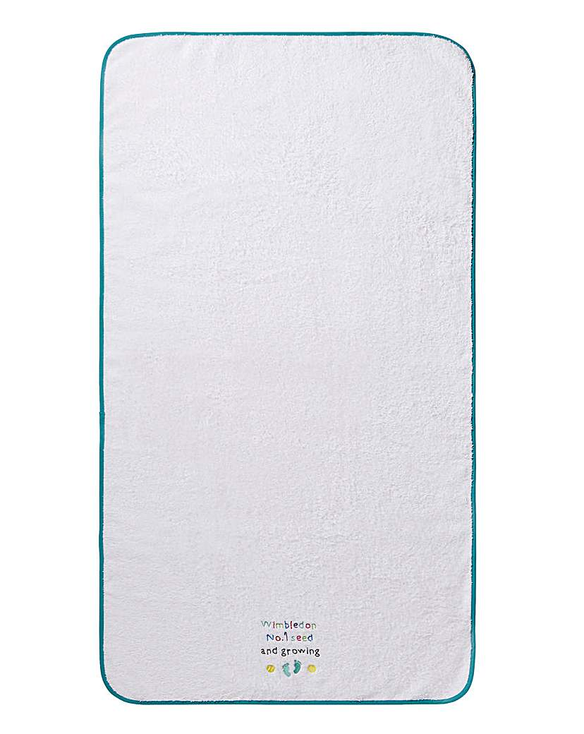 Image of Wimbledon Christy Childrens Bath Towel
