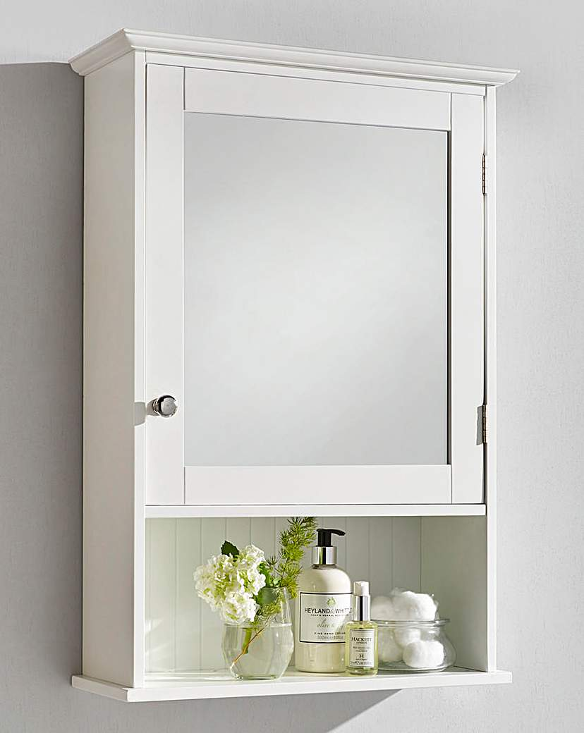 Image of New England Mirror Cabinet