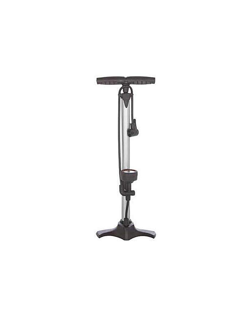 Gear'd Bike Track Pump with Dial.