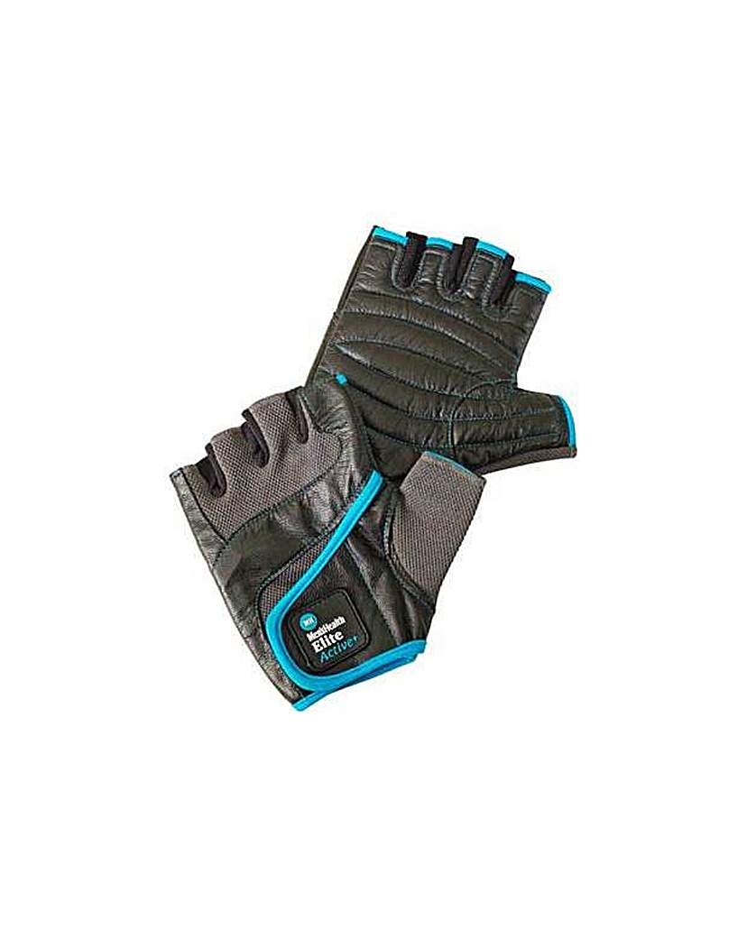 Men's Health Weight Lifting Gloves-Large