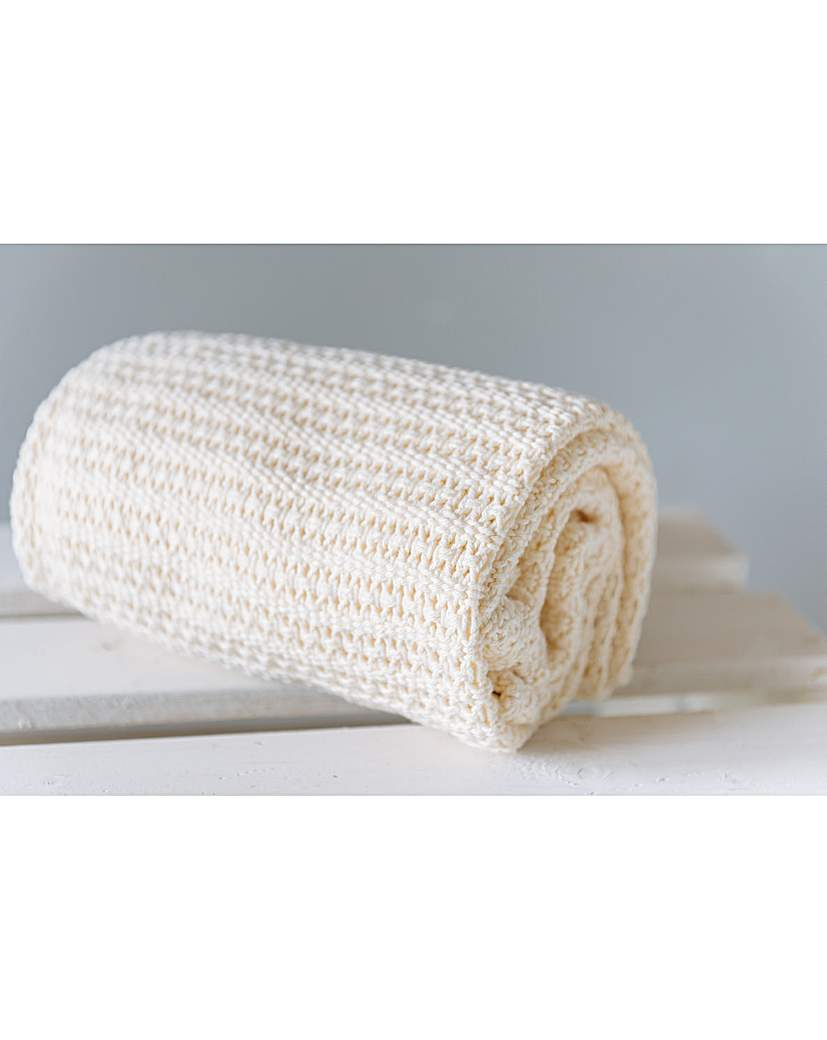 Image of Abeille Cellular Baby Blanket