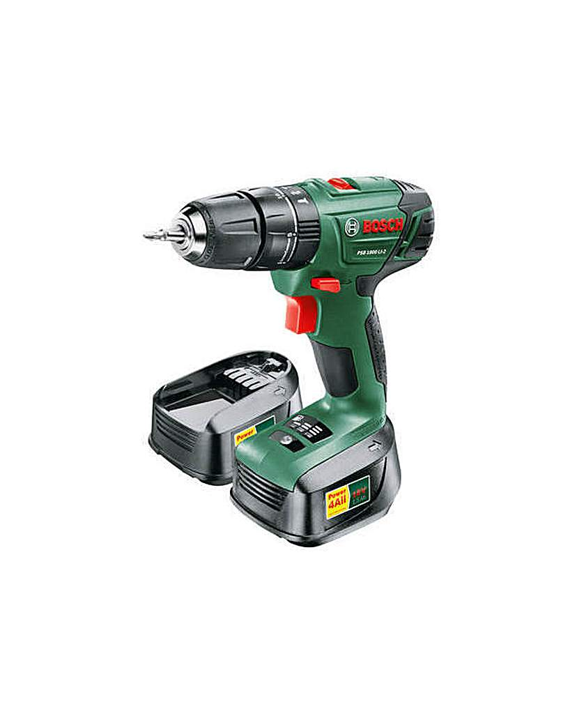Image of 18 1.5AH Hammer Drill with 2 Batteries