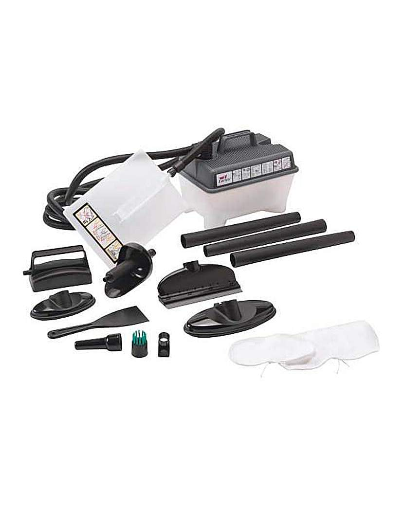 Earlex Complete Steam Cleaner Set.