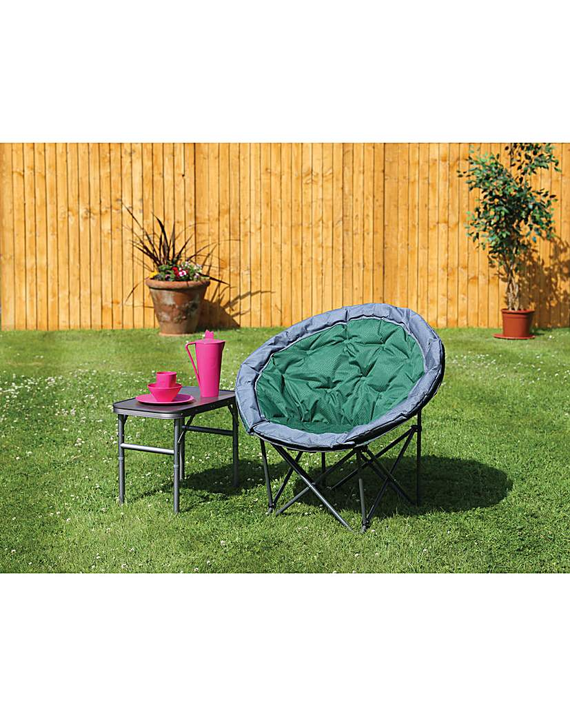Deluxe range medium green moon chair