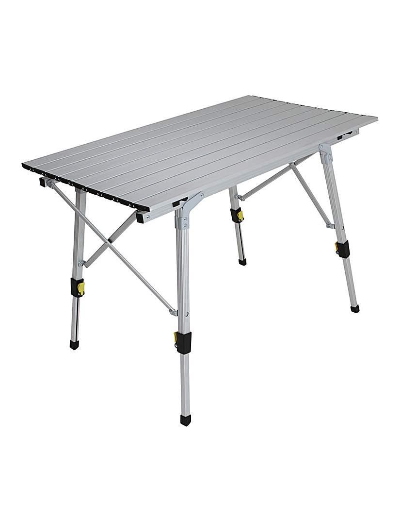 Deluxe range Packaway slatted table