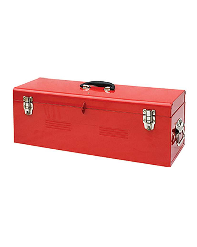 Metal H/duty Tool Box & Tote Tray 26in