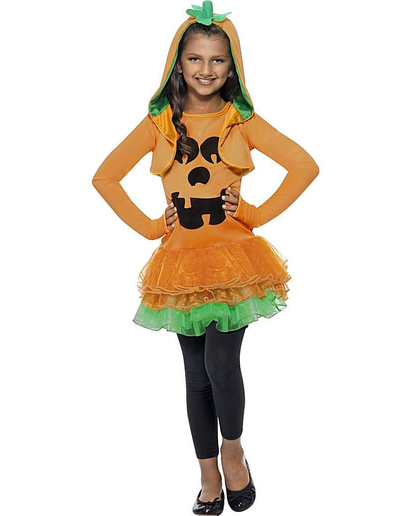 Halloween Girls Pumpkin Tutu Costume