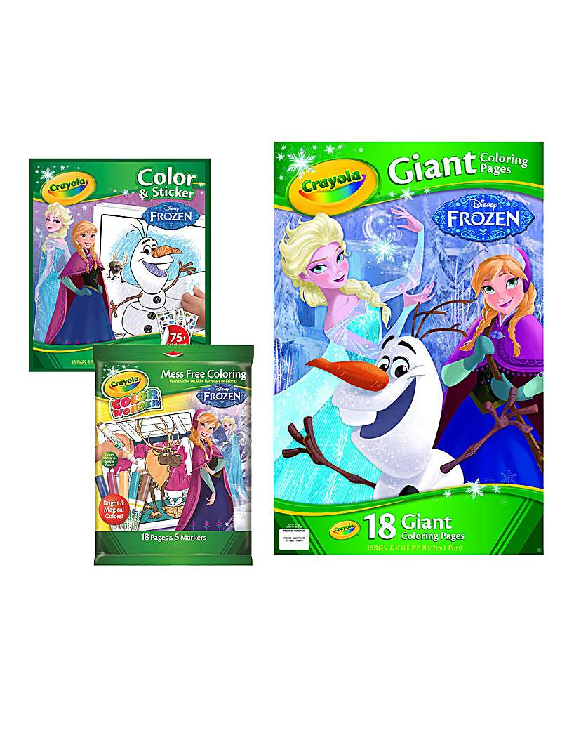 Image of Crayola Disney Frozen Colouring Pack