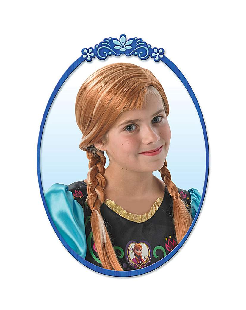 Image of Disney's Frozen Anna Wig