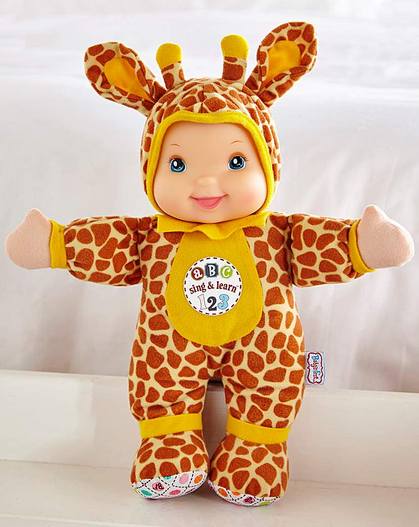 Image of Baby's First Sing & Learn Giraffe