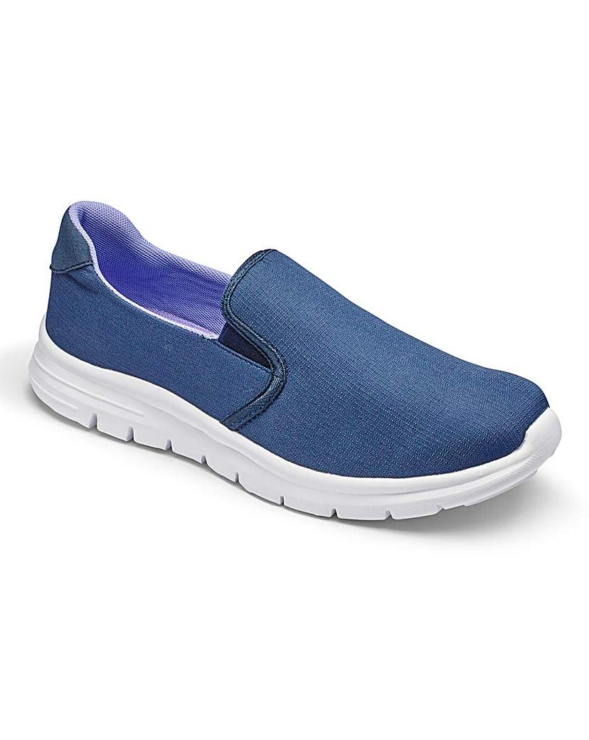 Image of Be Active Slip On Memory Foam TrainerEEE