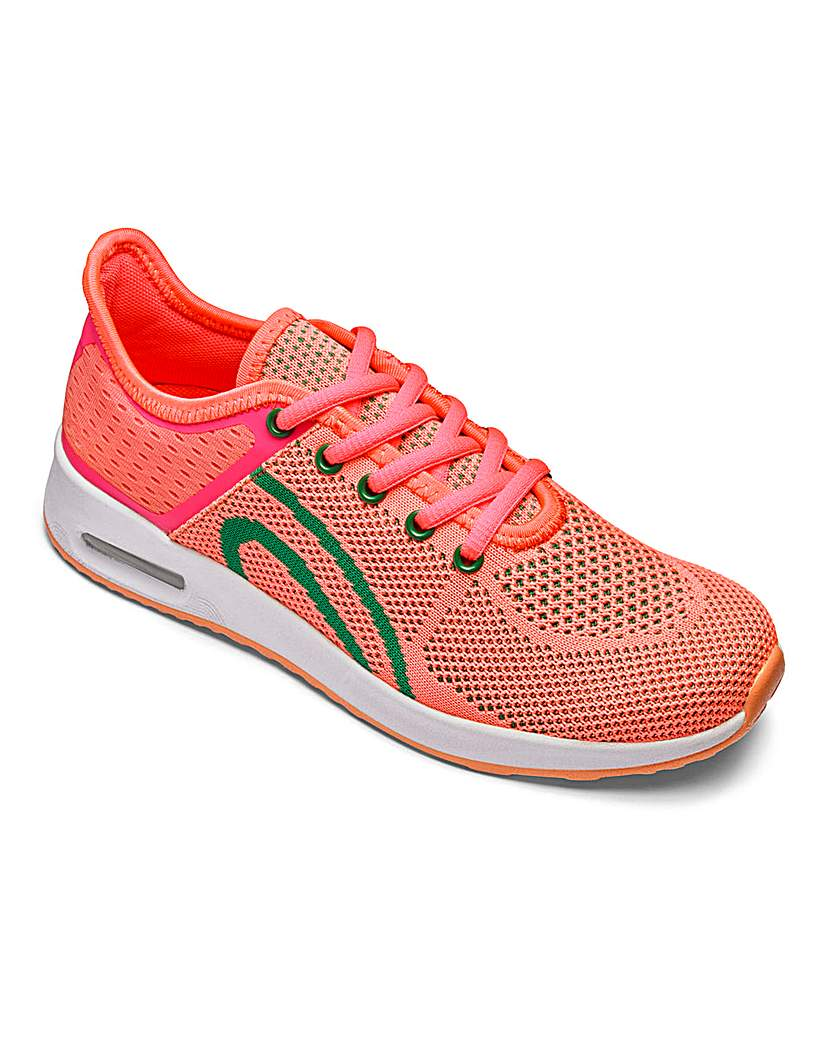 Be Active Knitted Air Bubble Trainers E