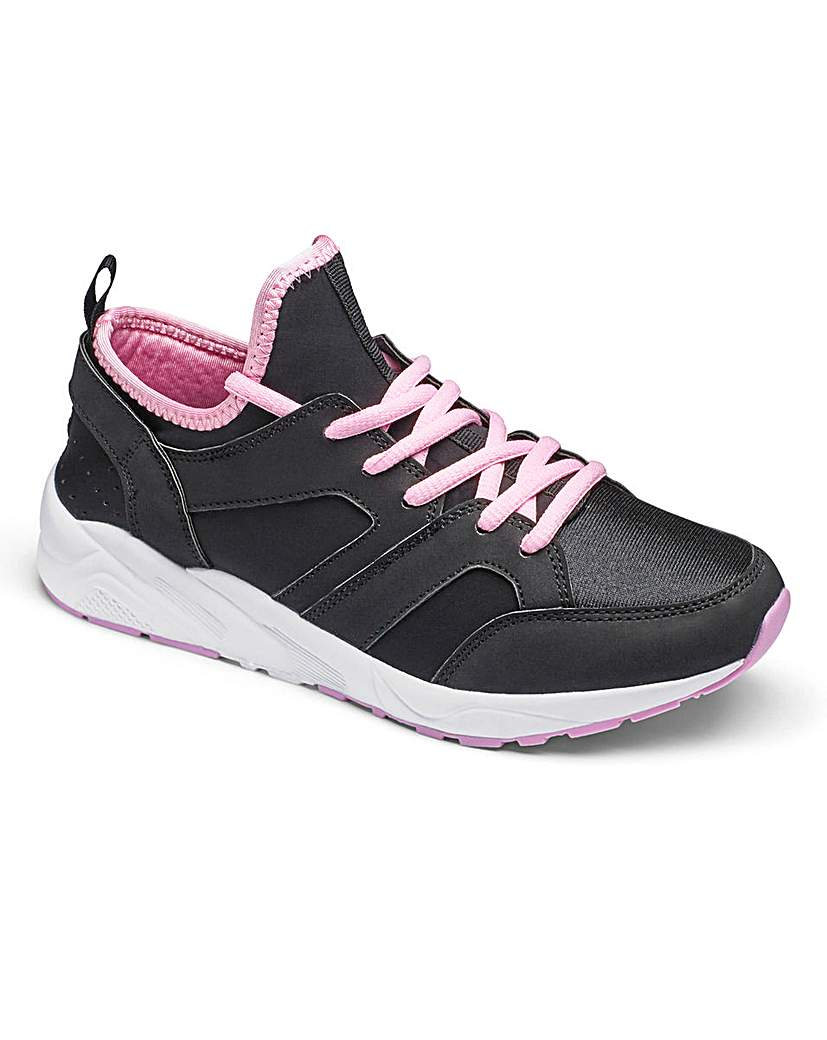 Be Active Lace Up Trainers EEE Fit