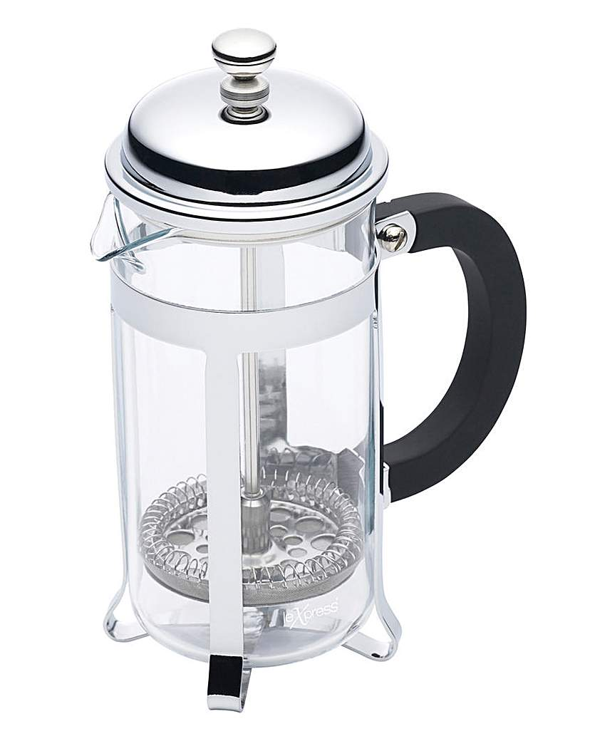 Image of Le'Xpress 3 Cup Chrome Plated Cafetiere