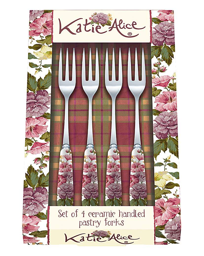 Image of Katie Alice Highland Fling Pastry Forks