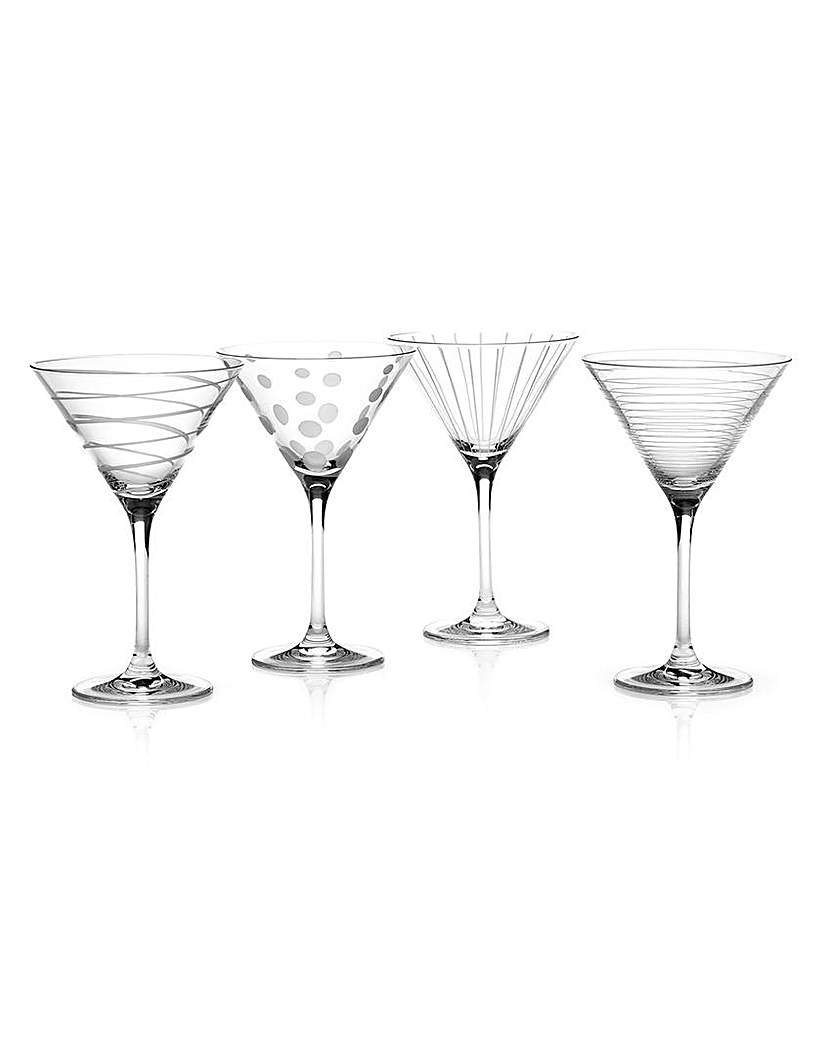 Image of Mikasa Cheers Set Of 4 Cocktail Glasses