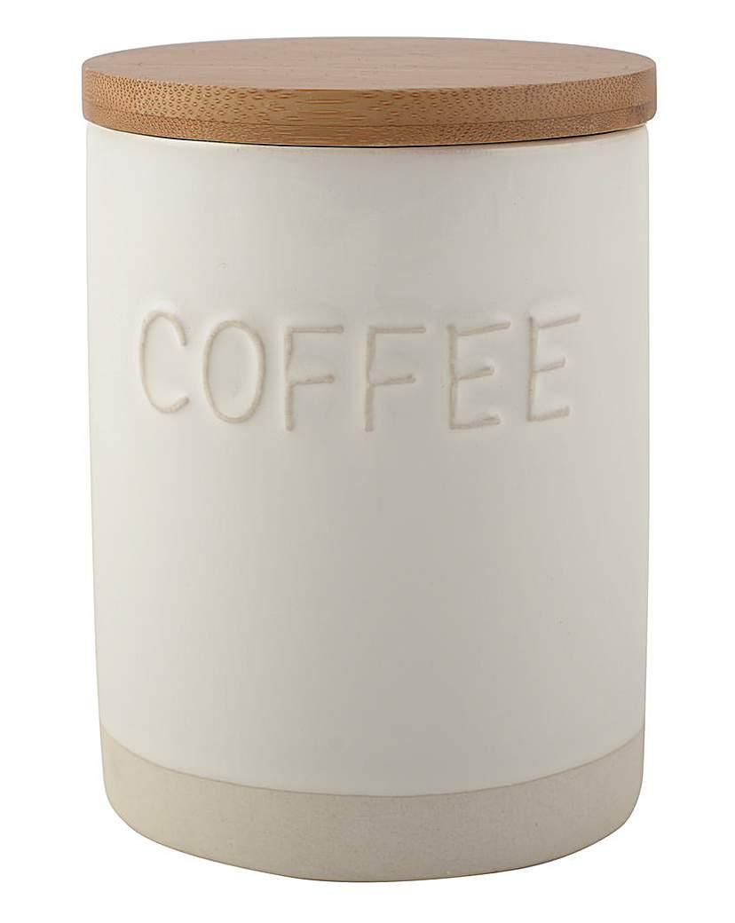 La Cafetiere Stoneware Coffee Jar
