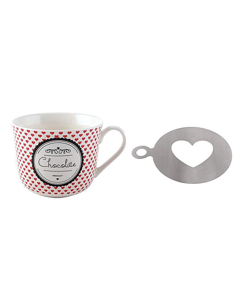 Image of La Cafetiere Hot Chocolate Mug Gift Set