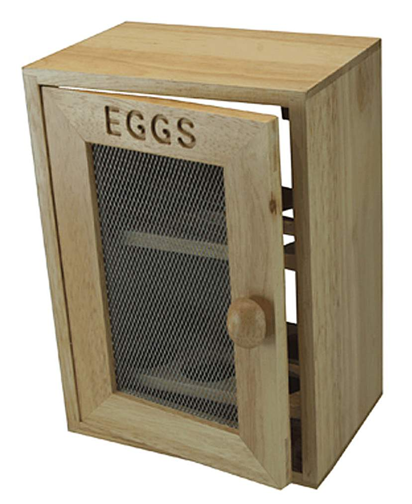 Egg Cabinet with Mesh Front