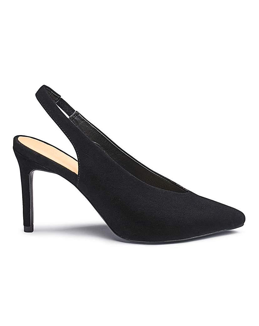 Sole Diva Mel Slingback Shoe EEE Fit