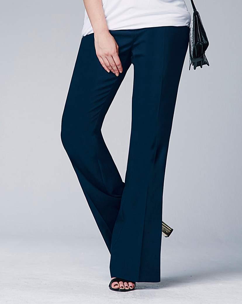 Basic Bootcut Trousers Reg