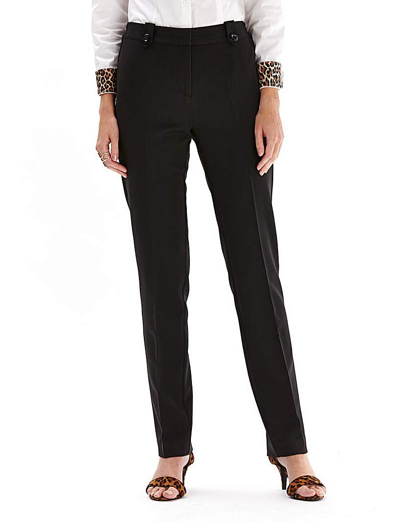 Mix And Match Slim Leg Trousers Reg