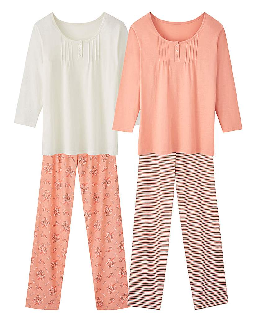 Pretty Secrets Pack of 2 Pyjamas