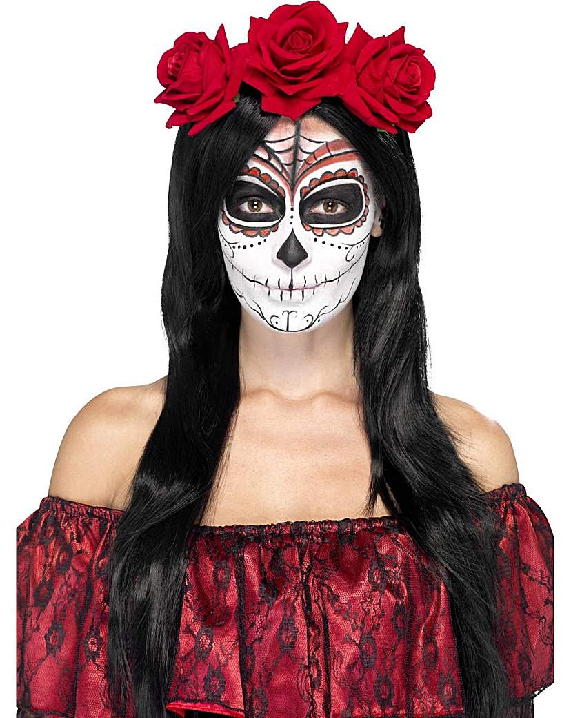 Product photo of Halloween day of the dead headband