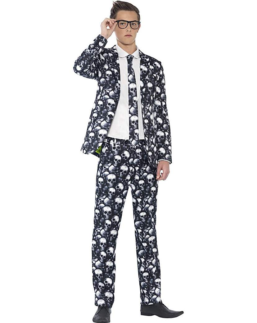 Product photo of Halloween boys skeleton suit