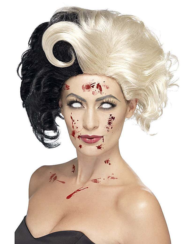 Product photo of Halloween deluxe evil madame wig