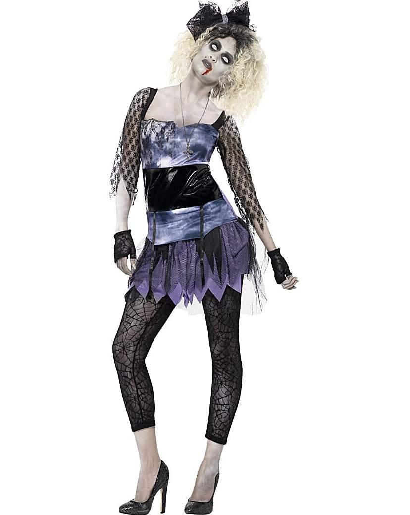 Halloween Ladies Zombie 80's Wild Child