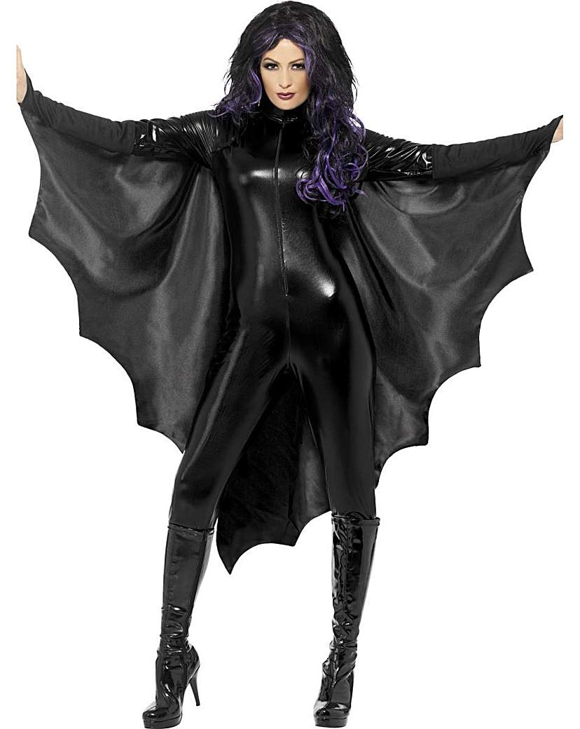 Product photo of Halloween adult vampire bat wings