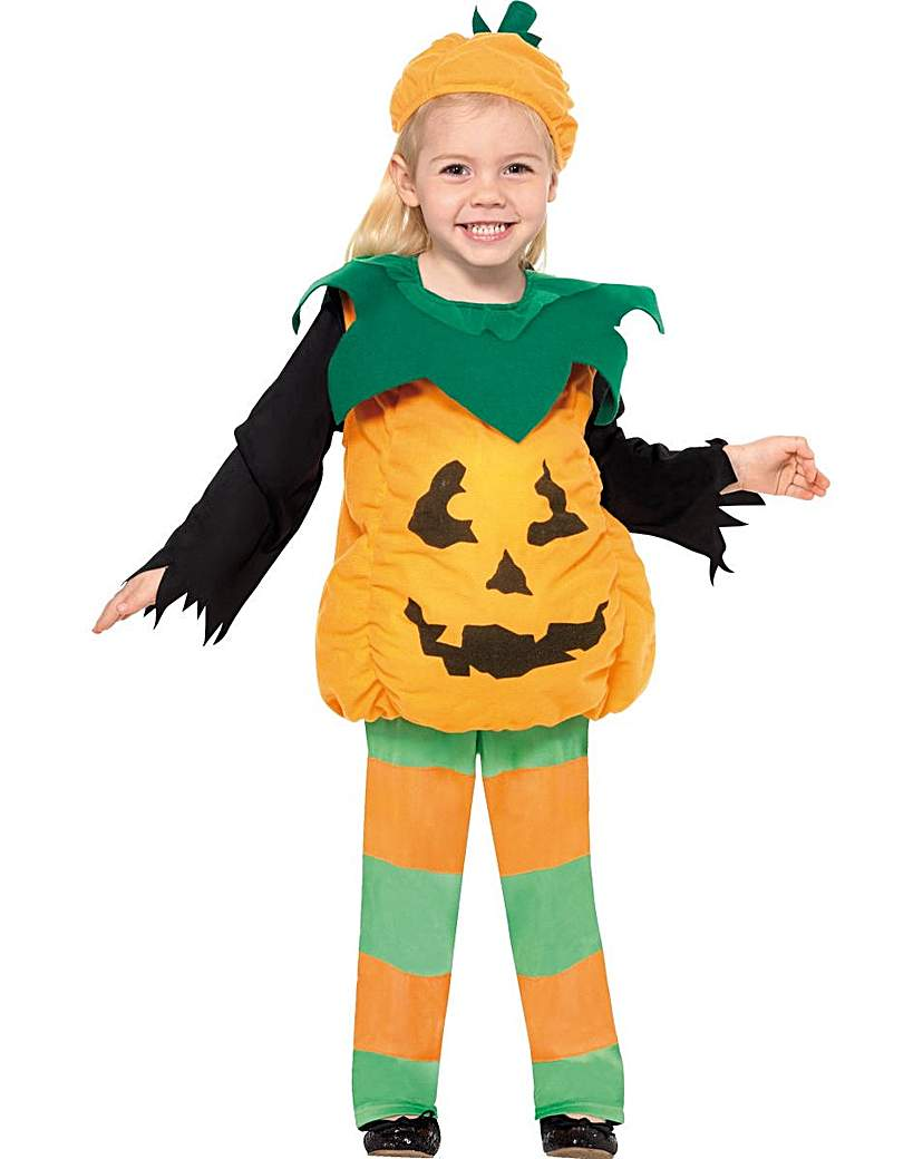 Product photo of Halloween child little pumpkin costume