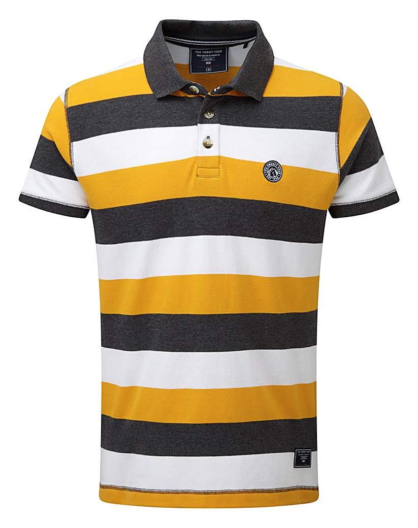 Tog24 Dyson Stripe Mens Polo Shirt.