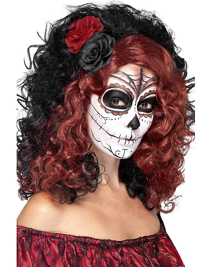 Product photo of Halloween day of the dead wig