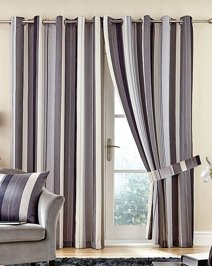 Whitworth Jacquard Eyelet Curtains