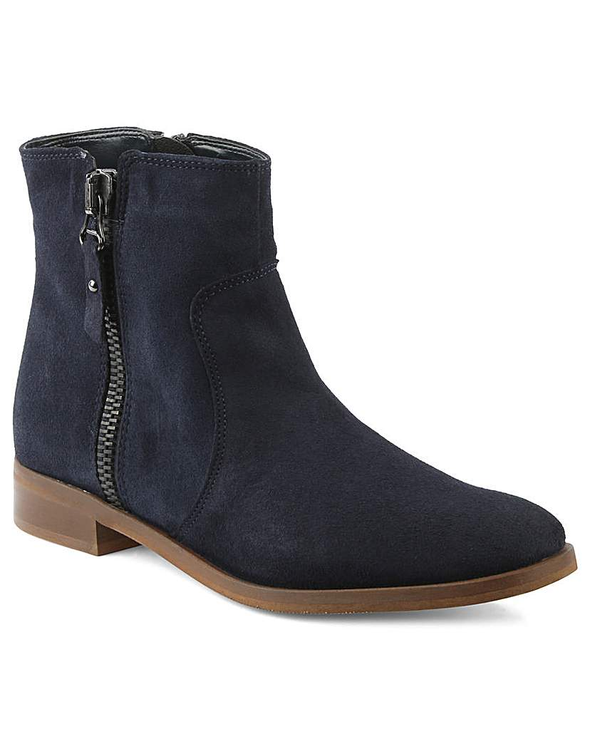 Moda In Pelle Corbella Navy Ankle Boot