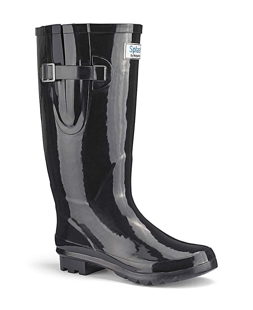 Splash Miss Predictable Wide EEE Wellies