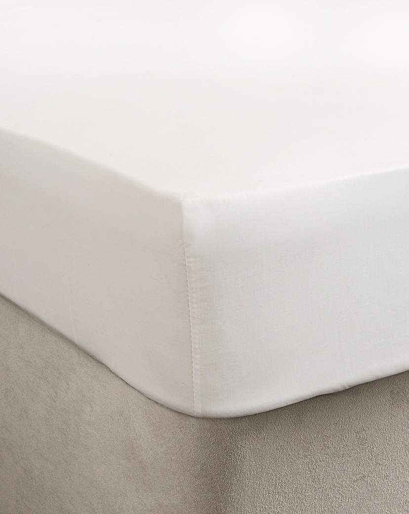 Image of Egyptian Cotton Extra Deep Ftd Sheet