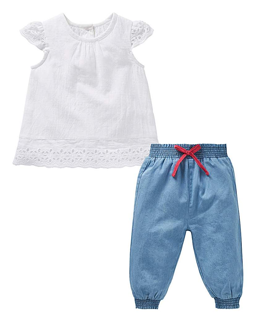 Image of KD Baby Blouse and Bloomer Set