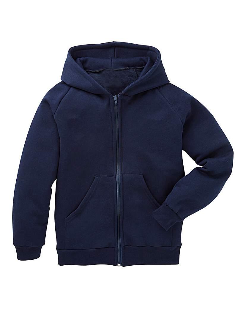 Unisex Zip Front PE Hoodie