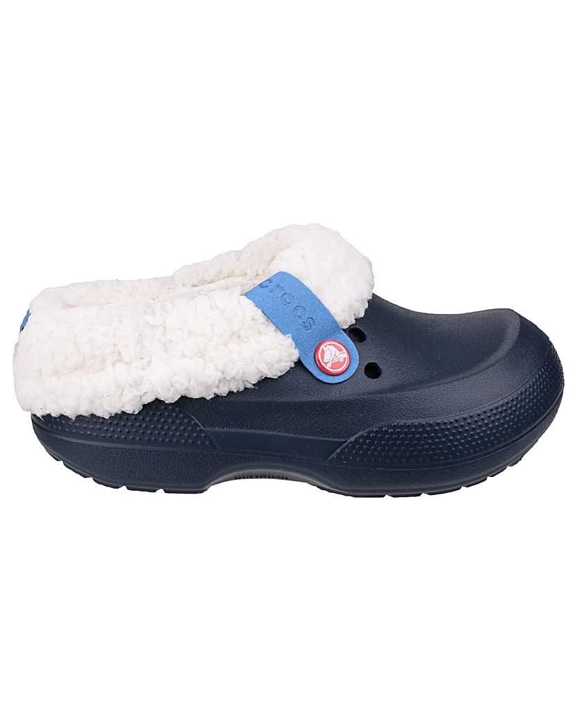 Image of Crocs Blitzen II Kids Mule Slippers