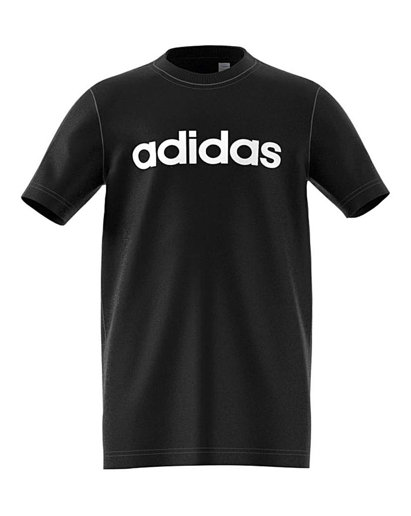Image of adidas Youth Boys Linear T-Shirt
