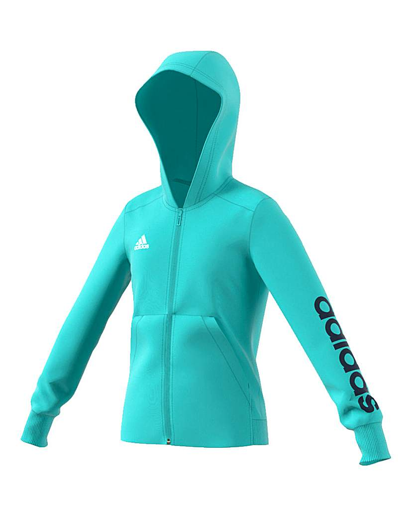 Image of adidas Youth Girls Full Zip Hoodie