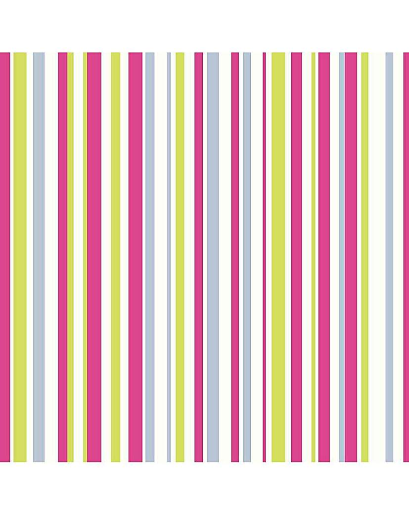 Image of Arthouse Sparkle Stripe Wallpaper