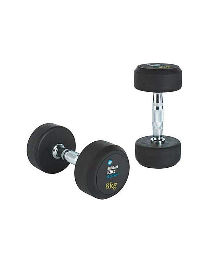 Fixed Weight Dumbbell - 2 x 8kg.