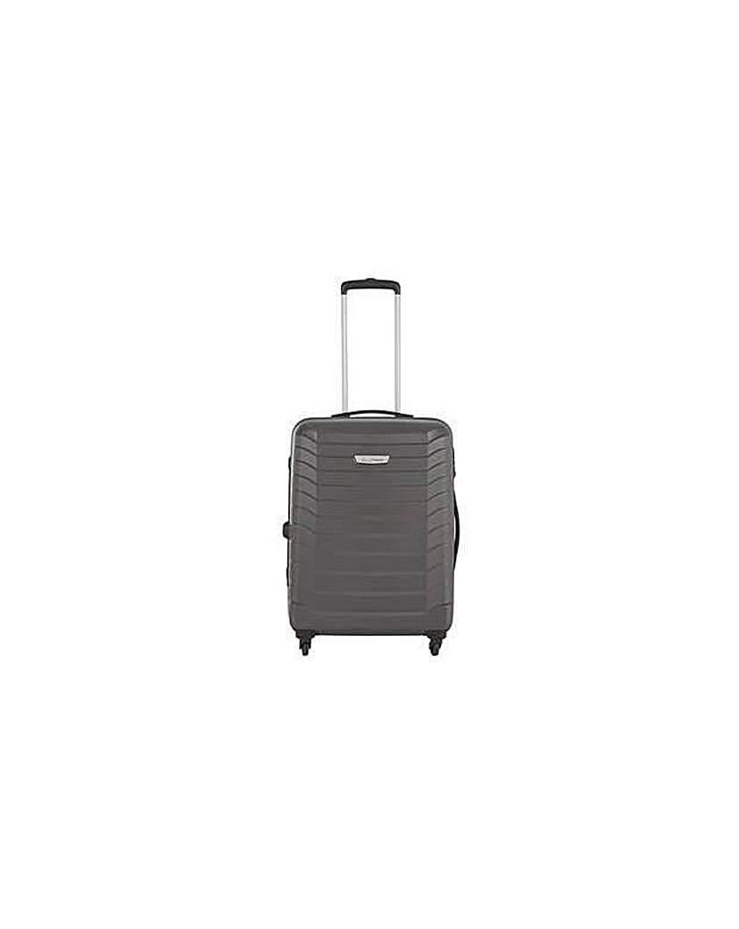 Go Explor 4 Wheel Case Med- Silver