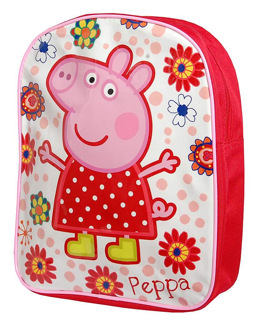 Personalised Peppa Pig Backpack