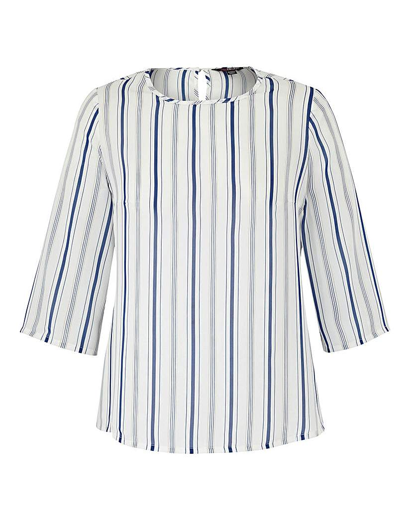 Shop 1960s Style Blouses, Shirts and Tops Lovedrobe Stripe Top £28.00 AT vintagedancer.com