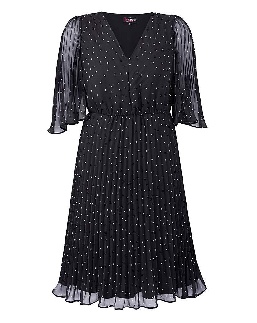 Retro Style Dresses Lovedrobe Angel Wing Dress £50.00 AT vintagedancer.com